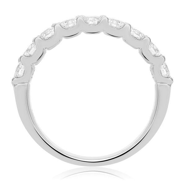 Nine round brilliant Diamond Band Image 2 Mystique Jewelers Alexandria, VA