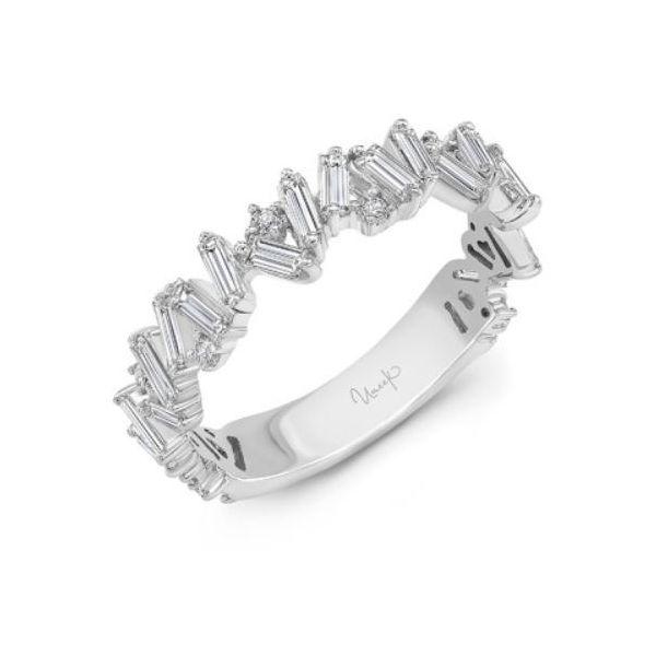 14K White Gold Diamond Stack Band Mystique Jewelers Alexandria, VA