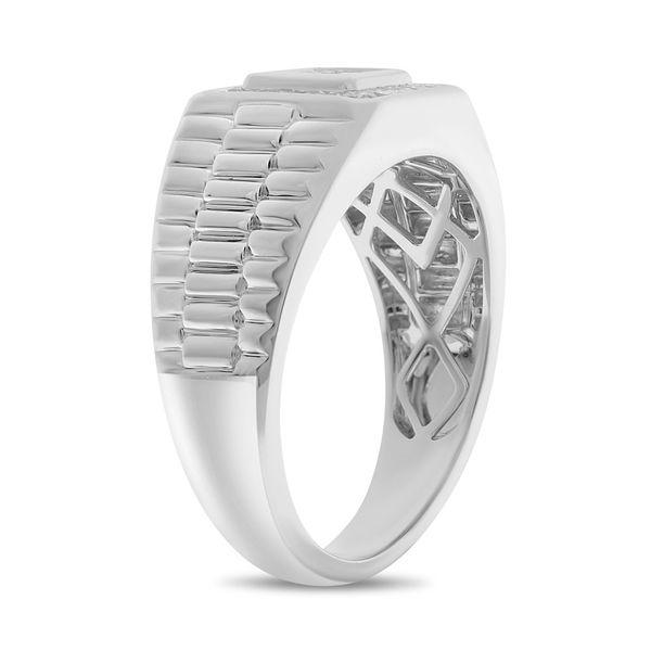 Diamond Men's Engagement Ring  Image 2 Mystique Jewelers Alexandria, VA