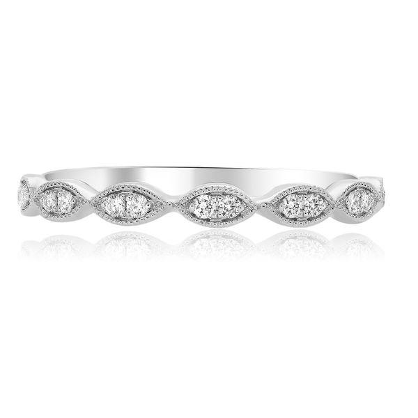 White Gold Milgrain Marquise Ring Mystique Jewelers Alexandria, VA