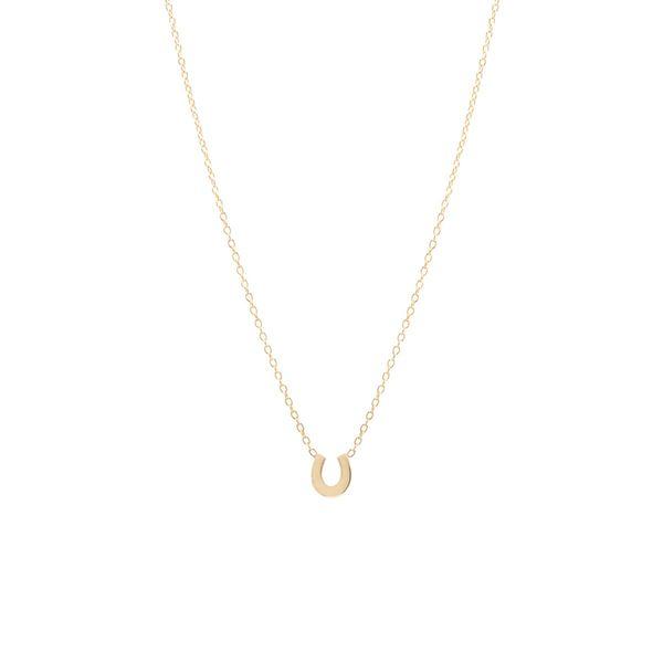 14K  Horseshoe Necklace Mystique Jewelers Alexandria, VA
