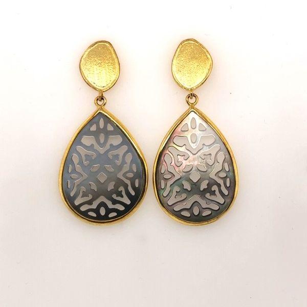 Mother of Pearl Dangle Earrings Mystique Jewelers Alexandria, VA
