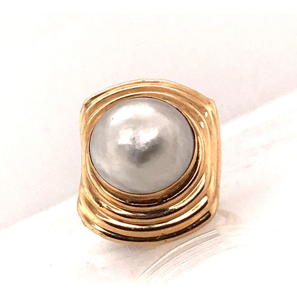 Gold & Pearl Ring Mystique Jewelers Alexandria, VA