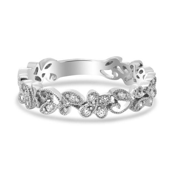 Delicate Diamond Filigree Band Mystique Jewelers Alexandria, VA