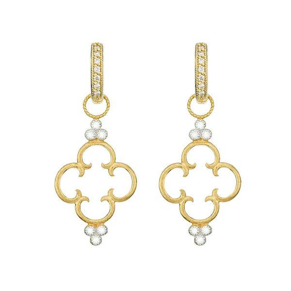 Simple Clover Diamond Trio Earring Charm Mystique Jewelers Alexandria, VA