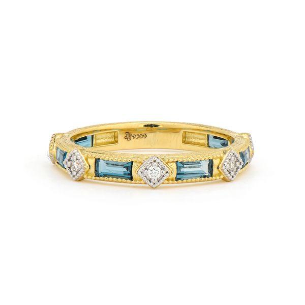 Lisse Diamond Kite Baguette Band Mystique Jewelers Alexandria, VA