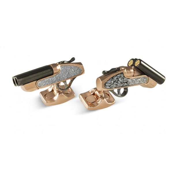 Shotgun Cufflinks Mystique Jewelers Alexandria, VA