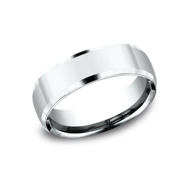 SIlver Inverted Bevel Band Mystique Jewelers Alexandria, VA