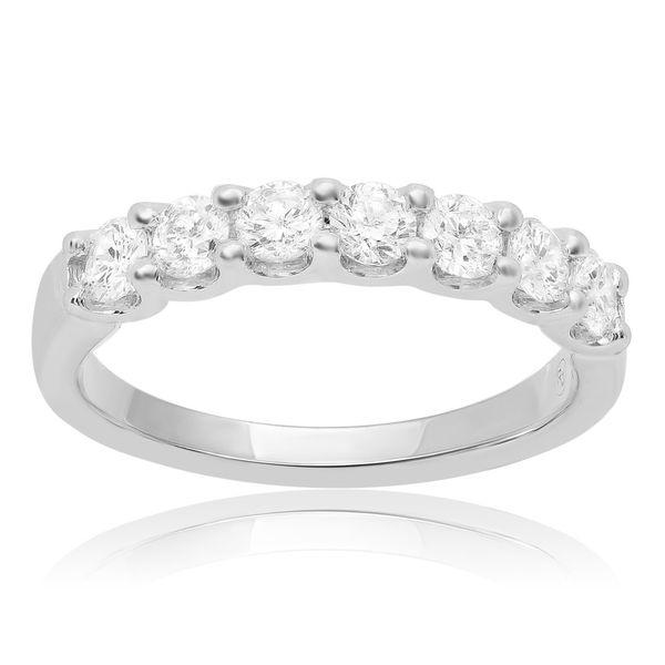 Nine Stone White Diamond Band  Mystique Jewelers Alexandria, VA