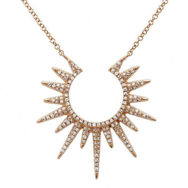 Starburst Pendant Padis Jewelry San Francisco, CA