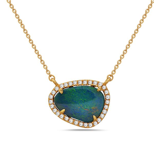 14KT Gold Gemstone Necklace Parris Jewelers Hattiesburg, MS