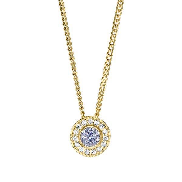 Gold Vermeil June Birthstone Necklace Parris Jewelers Hattiesburg, MS