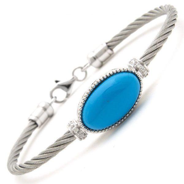 Turquoise Onyx Bracelet