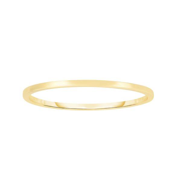 14K Gold Polished Band Ring