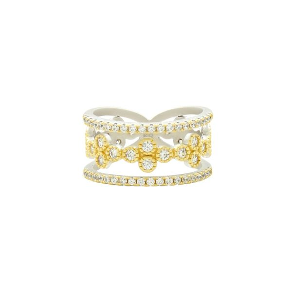 14K Gold Plated Layer Ring