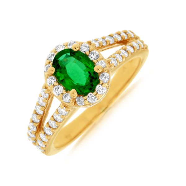 Emerald Ring  Parris Jewelers Hattiesburg, MS