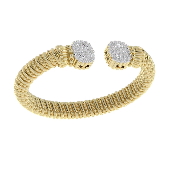 14 kt Yellow Gold Diamond Bracelet by Alwand Vahan  Image 2 Parris Jewelers Hattiesburg, MS