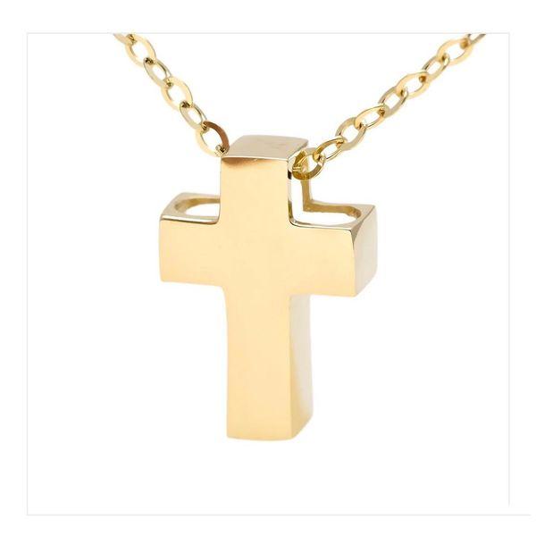 Yellow Gold Cross Gold Pendant