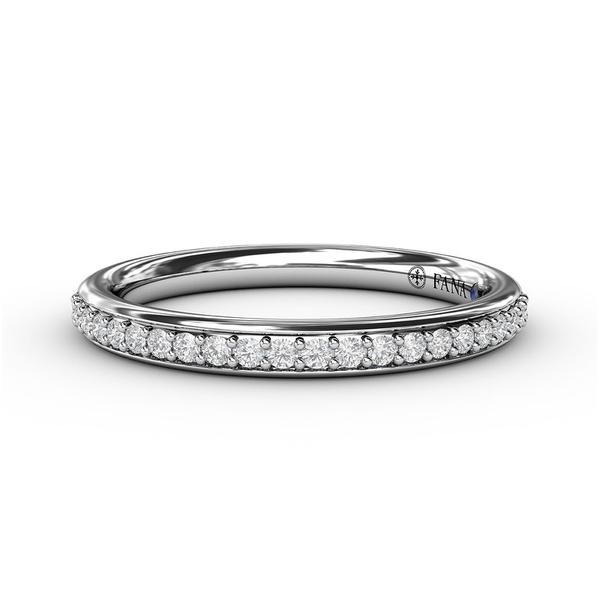 14 kt White Gold Diamond Anniversary Band Parris Jewelers Hattiesburg, MS