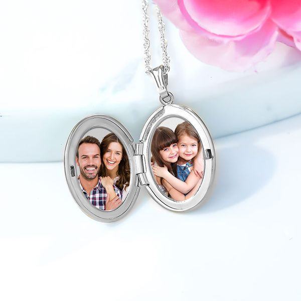 Adult Sterling Silver Locket Necklace