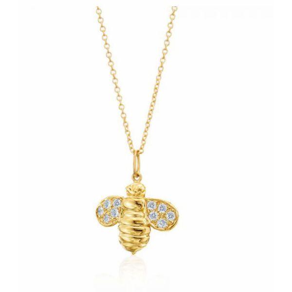 18K Bee pendant Parris Jewelers Hattiesburg, MS