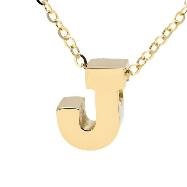 14 kt Yellow Gold Initial