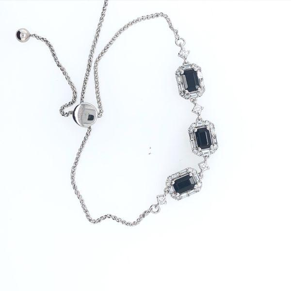 Sapphire and Diamond Bracelet