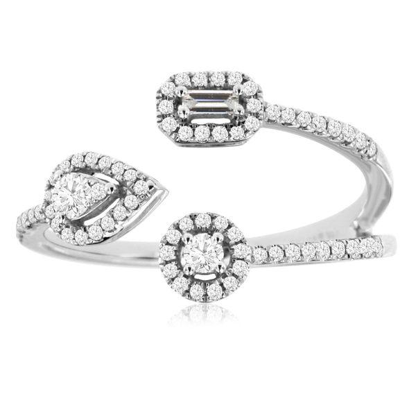 Three end diamond wrap ring Parris Jewelers Hattiesburg, MS