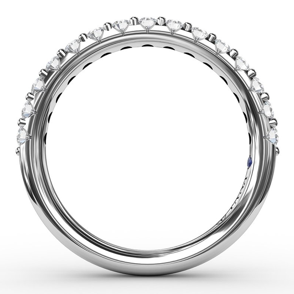 14 kt White Gold Diamond Band Image 2 Parris Jewelers Hattiesburg, MS