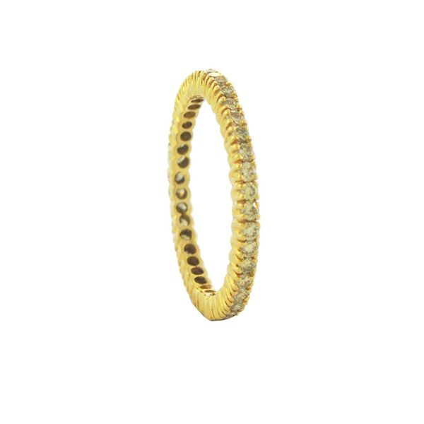 18 kt Yellow gold Yellow Diamond Band