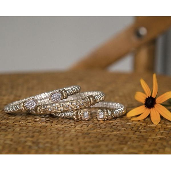 14 kt Sterling Silver and 14 kt Yellow Gold Bracelet by Vahan Image 2 Parris Jewelers Hattiesburg, MS