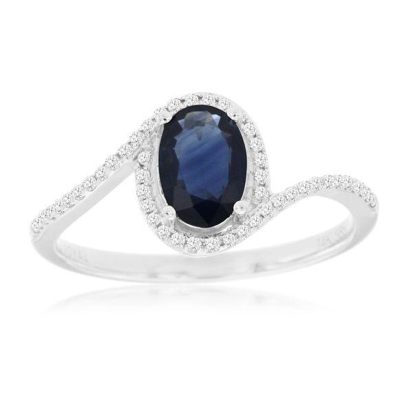 Sapphire Ring Parris Jewelers Hattiesburg, MS