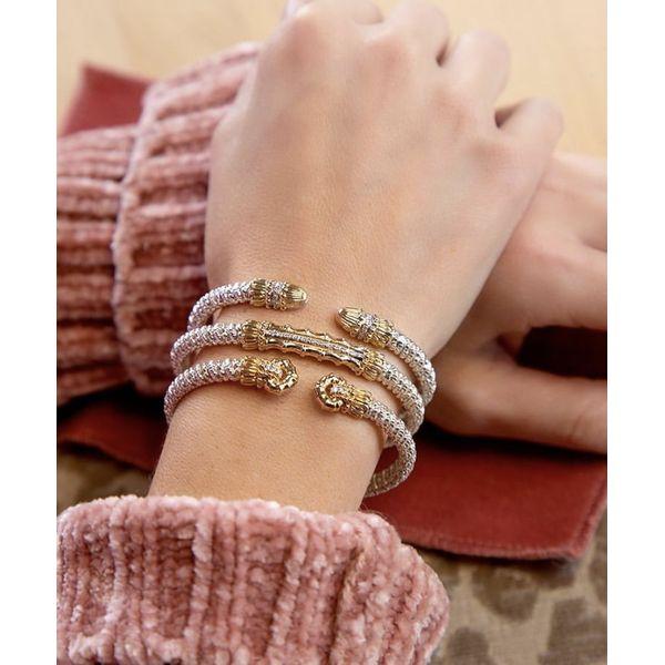 Sterling and 14k gold accent Vahan bracelet