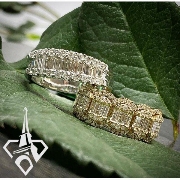 14 kt Yellow Gold Diamond Fashion Ring Image 2 Parris Jewelers Hattiesburg, MS