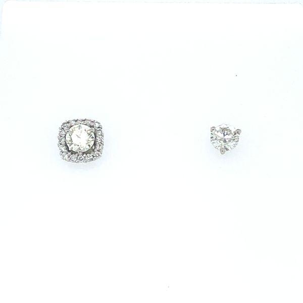 Diamond Stud Earring Jackets