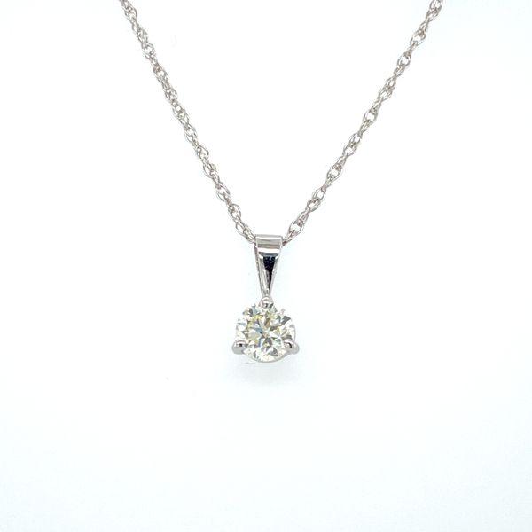 14 kt White Gold Diamond Necklace