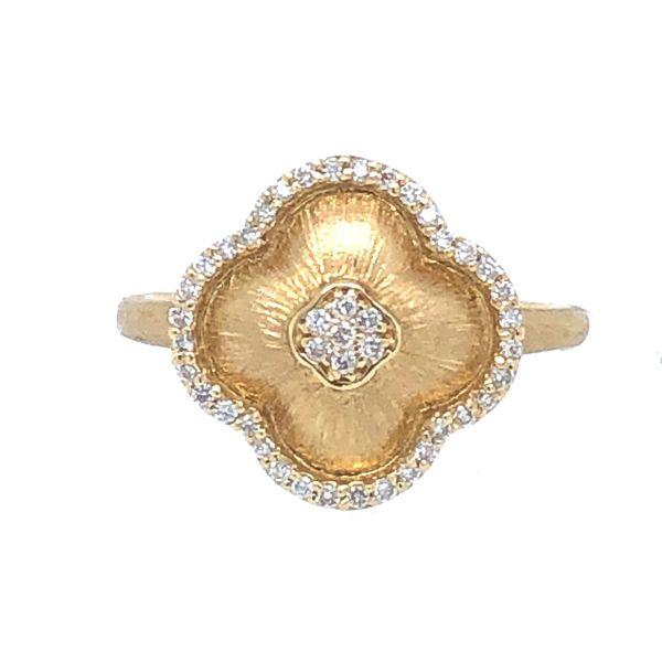 14 kt Yellow Gold Diamond Ring