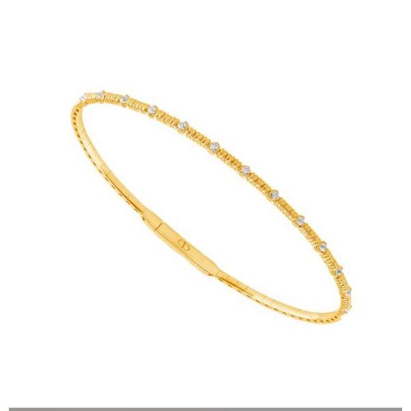 14 kt Yellow Gold Diamond Bracelet