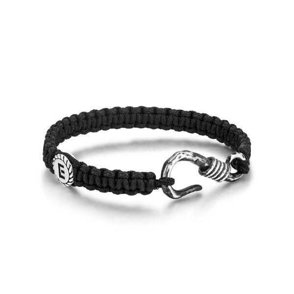 Men's Cord Bracelet with Sterling Hook Parris Jewelers Hattiesburg, MS