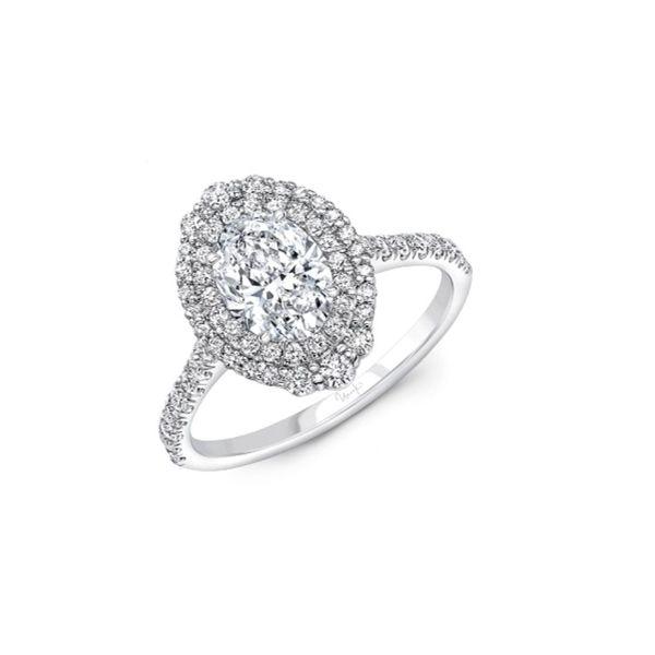 Diamond Halo Engagement Ring Setting