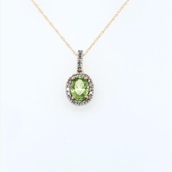 Peridot Necklace