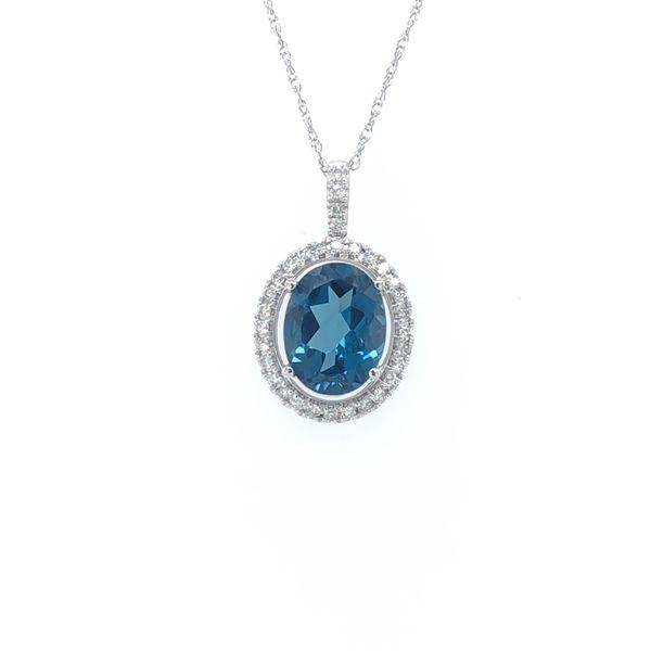 London Blue Necklace