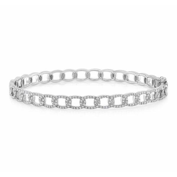 14 kt White Gold Diamond Bracelet