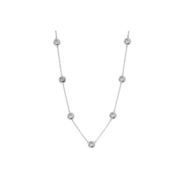 Sterling Silver Diamond By the Yard