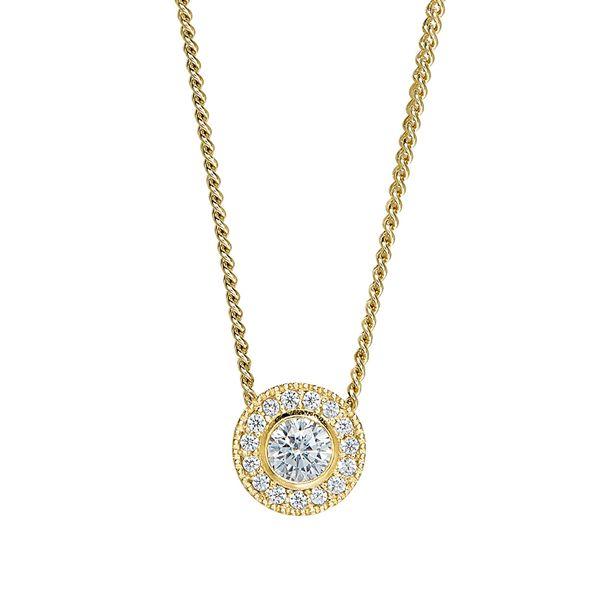 Gold Vermeil April Birthstone Necklace Parris Jewelers Hattiesburg, MS