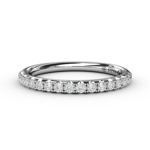 14 kt White Gold Diamond Band Parris Jewelers Hattiesburg, MS