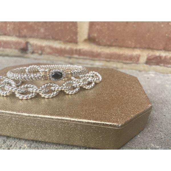 Sterling Silver Link Bracelet  Image 2 Parris Jewelers Hattiesburg, MS