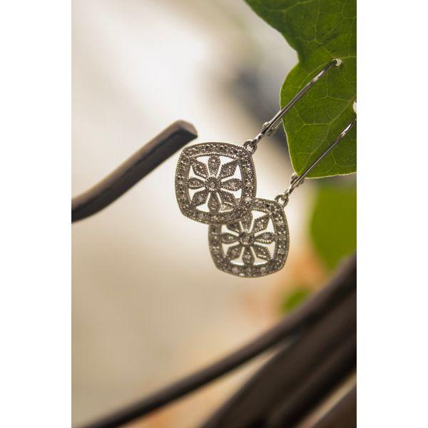 Sterling Silver Earrings Image 2 Parris Jewelers Hattiesburg, MS