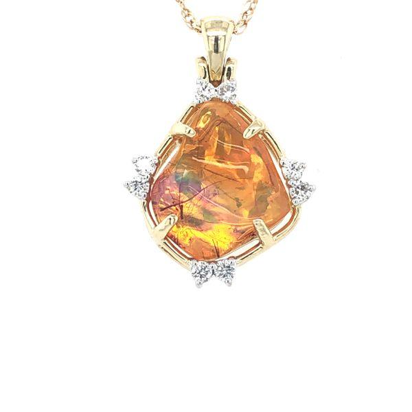 Fire Opal Necklace