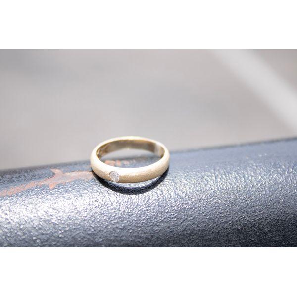 14 kt Yellow Gold Diamond Ring Image 2 Parris Jewelers Hattiesburg, MS